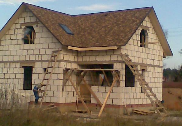 Дом из сибита своими руками
